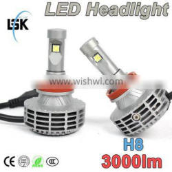 Super bright led automotive h8 40w led headlight 5 color available