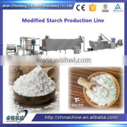 Extrusion converted starch making machine