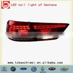 Rear PMMA Taizhou LED automobile led tail lamps for Santana made in China Taizhou