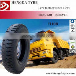 Qingdao Hengda tire 9.00-20 H108 sale all over the world