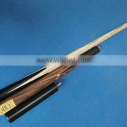 British brand 3/4-pc hand made snooker cue ash wood billiard snooker cue for sale