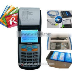 bus ticketing machine with bulit in thermal printer for ticket printing