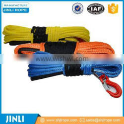 Chineema synthetic 4x4 winch rope with hook thimble sleeve packed as full set for 4x4 winch