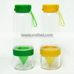 Super Quality 27oz BPA FREE tritan water fruit infuser bottle With Carrying Strap