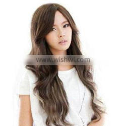 2014 60cm long curls pear wig kindness elegant repair gentlewomen synthetic hair wig