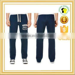 men's running sweats pants gym long joggers sports bottoms with line