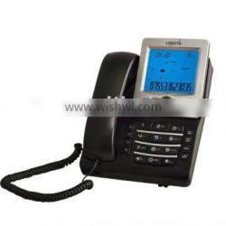 big LCD telephone with directory