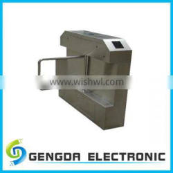 Access control entrance stainless steel rfid swing turnstile