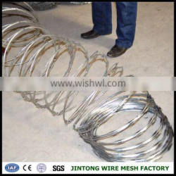 low price concertina coil type razor barbed wire mesh fence