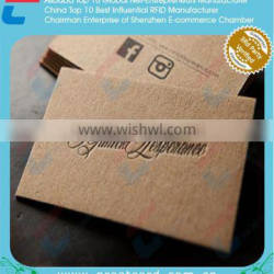 Matt paper business card printing / paper id card printing Quality Choice