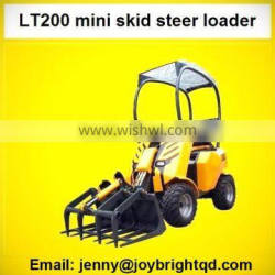 small backhoe loader,mini skid loader,dingo with seat and sunproof,B&S engine,CE paper