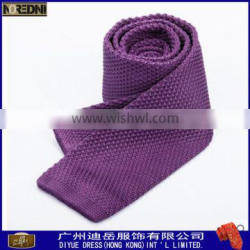 High quality 100% polyester knitted neck tie for men
