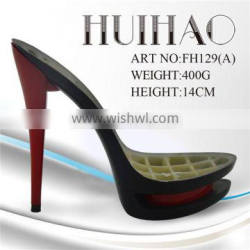 fashional ABS high heel shoe sole,shoe part