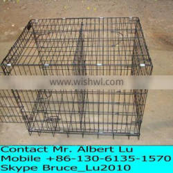 HOT SALE METAL DOG CAGE WITH DIVIDER