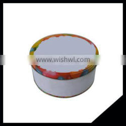 First Grade Custom Chinese Manufacturer Large Size Round Metal Cookie Tin Box