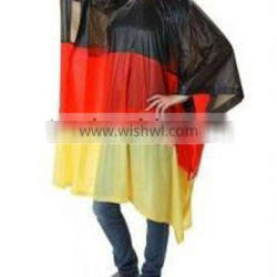 Lightweight Reusable Rain Poncho With Hooded