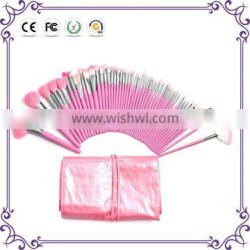 48pcs per set cute pink make up brush for cosmetic and foundation brush with makeup brush box