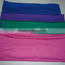 double layer spandex chair band and lycra stretch chair bow
