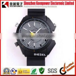 8GB Waterproof 1080P IR Watch DVR Support Night Vision and PC Camera