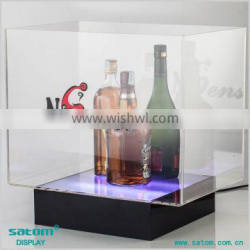 Brand Pormotie Illuminated Wine Bottle Liquor Displays