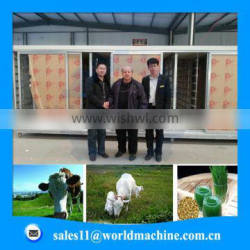 Planting room barley seeds fodder solutions hydro grass seed machine