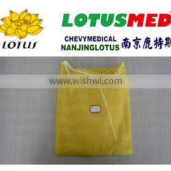 Non Sterile Yellow Disposable Surgical Gown (prevent Ebola Virus )