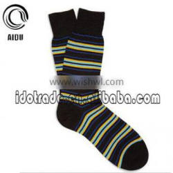 Colorful Stripe Sock 100 Cotton Socks Custom Man Sock Crazy Socks Mens Dress Socks