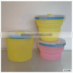 Lunch Box silicone collapsible lunch box