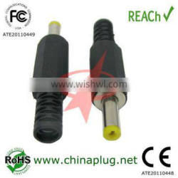 dc connector 1.7mm jacks male with OD4.0MM 11mm Shaft in Length