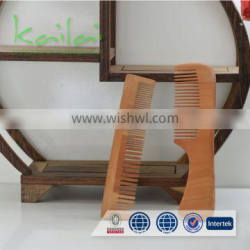 Natural Bamboo Comb Handmade Disposible Hotel Wooden Comb