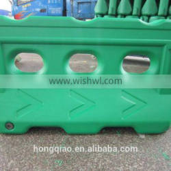 hongqiao 1500mm plastic road traffic safety water filled traffic barriers go kart barrier