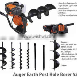 Earth Auger , Auger for Earth Drilling,Manual Earth Auger with 80/100/150/200/250/300mm drilling