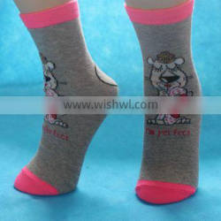 2014New Children Heelless Sock With High Quality