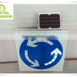 Factory outlet customized solar led reflective material road sign