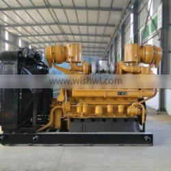 Diesel engine for oilfield well drilling