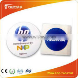13.56MHz rfid inlay for access control paper sticker