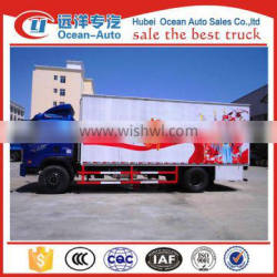 New type road show truck ,dongfeng stage truck with stage area 36M2