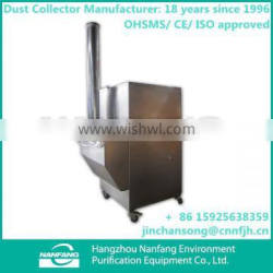 Manufacture High Quality TUOER-12/C Industrial Cartridge Vibrating Portable Sand Benchtop Dust Catcher
