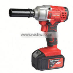 12V Cordless Electric Impact Wrench with rechargeable lithium battery