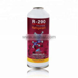 Empty small can 450G for refrigerant gas R-290