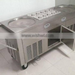 commercial Fried Ice Cream Roll Machine