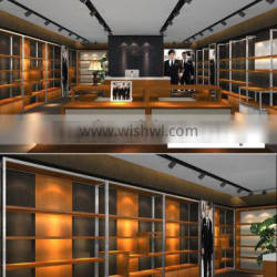 Chinese Online Metal Furniture Used Stores for Shoes and Bag Stores Display