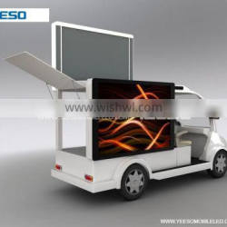 alibaba china electric LED display vehicle with led P6 screen low price