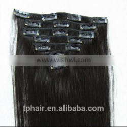 15'' 70g Full Head Clip in Human Hair Extensions