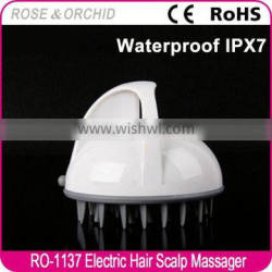 Durable promotional plastic hair massager brush for personal massage