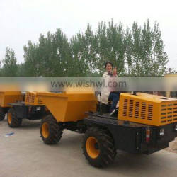 3tons 4x4 drive hydraulic tipping site dumper