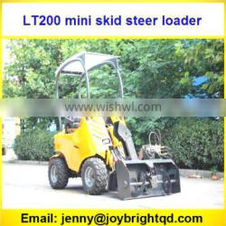 mini skid steer loader,dingo with seat and sunproof,B&S engine,CE paper