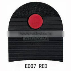 E007 RED LOGO Rubber Shoes Repair Material of MAGNA HEEL