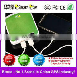 High efficiency powerbank for Iphone/Ipod/Mobile 10400mAh/3.7V