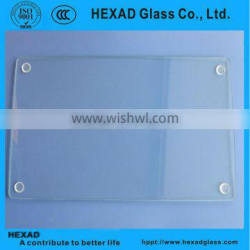 HEXAD tempered clear glass cutting board